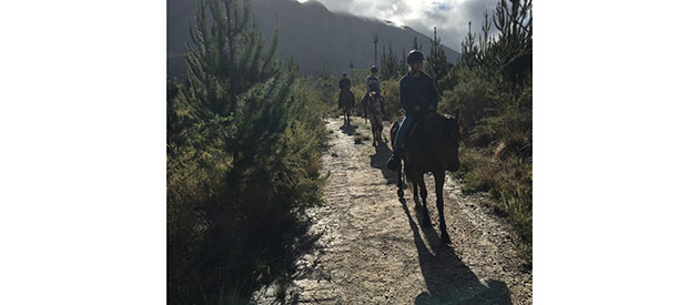 Two Feathers Horse Trails, Swellendam, www.south-africa-info.co.za