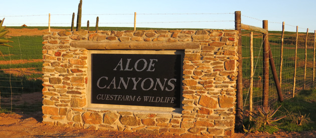 ALOE CANYONS GUEST FARM